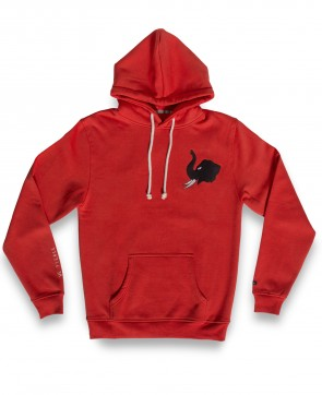 BMK WE PIERCE HOODIE RED